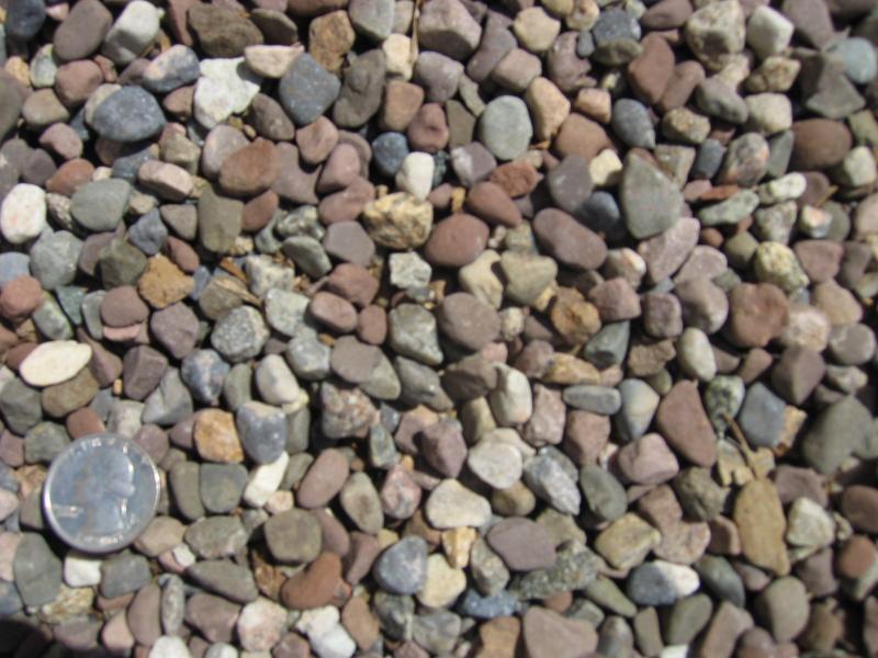 Niagara topsoil decorative stone for Decorative river stones
